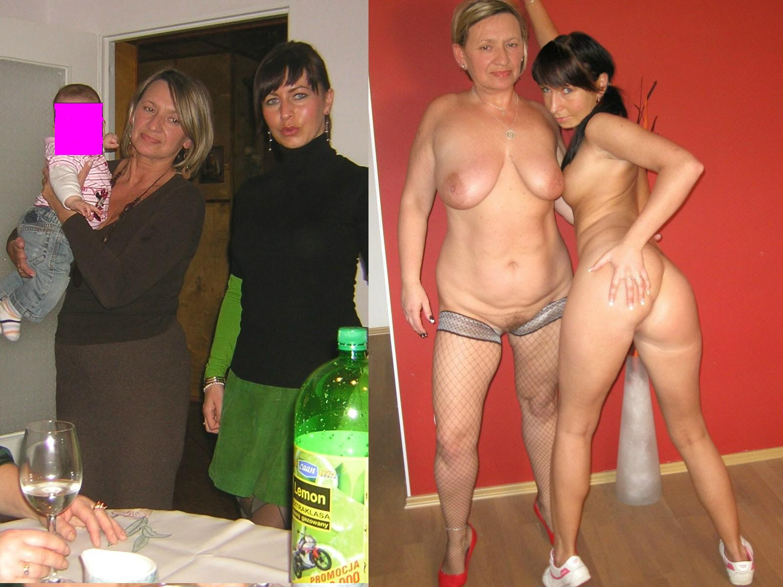 Was specially Single mother with daughter naked