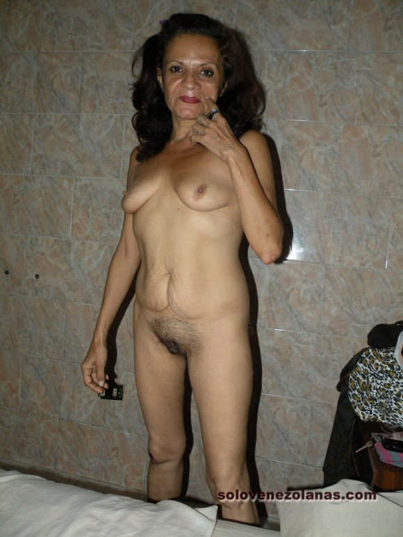 Mom was nude