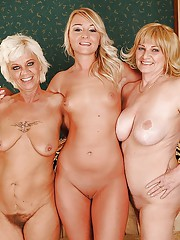 Grandma Mother And Daughter Nude