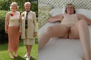 mom+daughter clothed and daughter nude